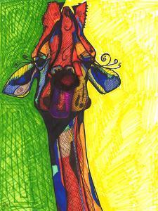Giraffe Yellow by Solveig Studio