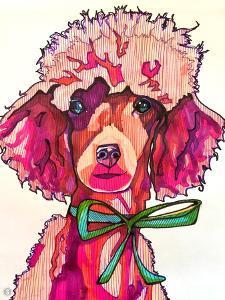 Poodle Paris by Solveig Studio
