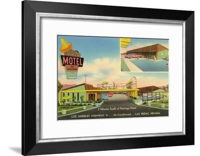Sombrero Motel, Las Vegas, Nevada--Framed Art Print