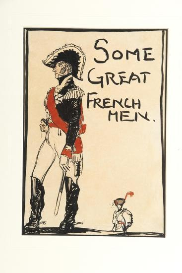 Some Great French Men, 1917-Claud Lovat Fraser-Giclee Print
