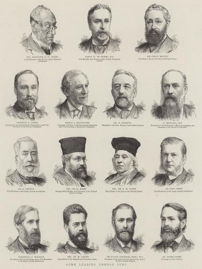 Some Leading London Jews--Giclee Print