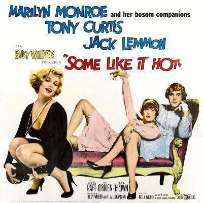 Some Like it Hot, 1959--Giclee Print