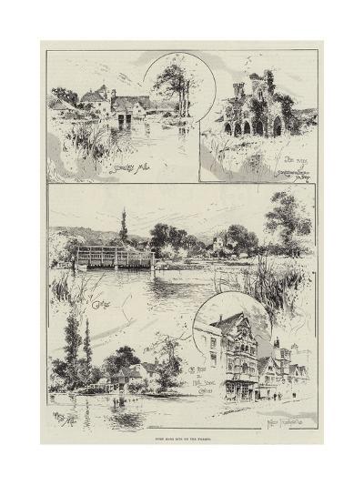 Some More Bits on the Thames-Joseph Holland Tringham-Giclee Print