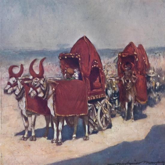'Some Native Vehicles', 1903-Mortimer L Menpes-Giclee Print