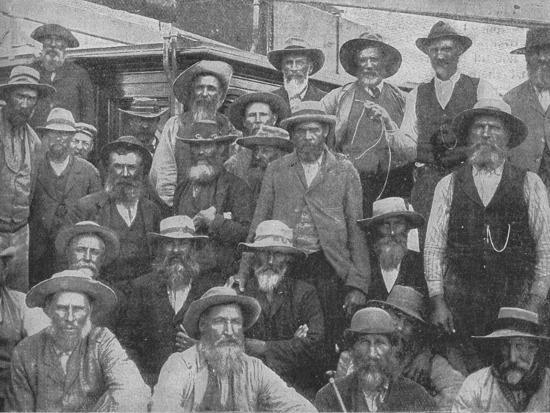 'Some of Cronje's Officers Captured at Paardeberg', c1900, (1902)-Unknown-Photographic Print