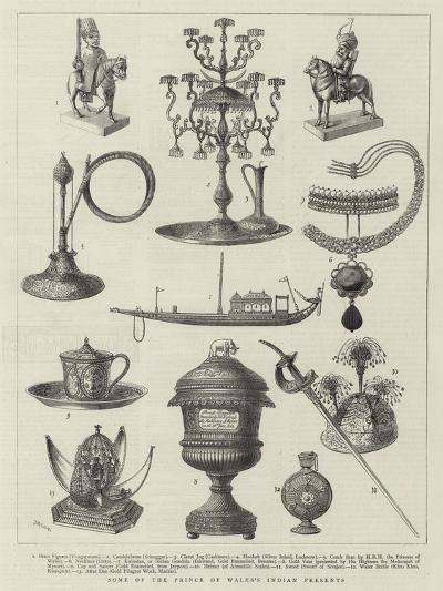 Some of Prince of Wales's Indian Presents--Giclee Print