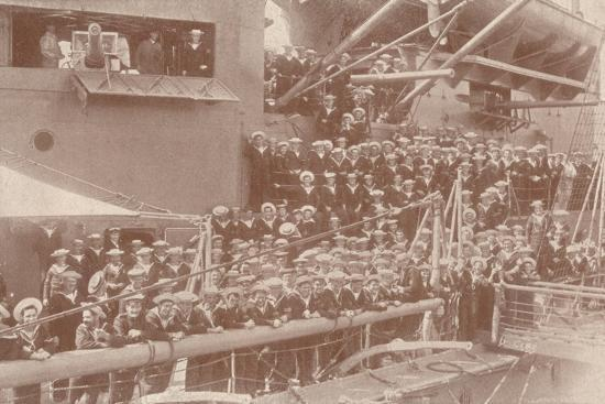 Some of the ship's company of HMAS 'Australia', c1917 (1919)-Unknown-Photographic Print