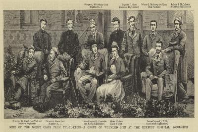 Some of the Worst Cases from Tel El Kebir, a Group of Wounded Men at the Herbert Hospital, Woolwich--Giclee Print