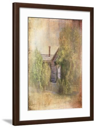 Some Place in Time-Ramona Murdock-Framed Art Print