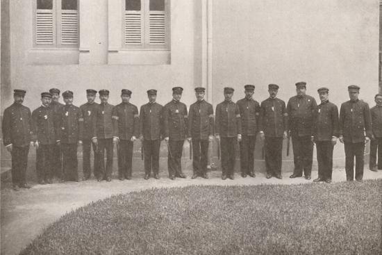 'Some smart Rio Policemen', 1914-Unknown-Photographic Print