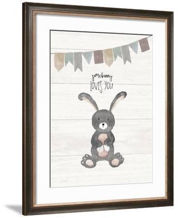 Somebunny Loves You-Jo Moulton-Framed Art Print