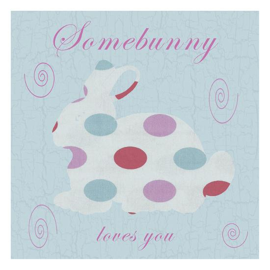 Somebunny-Sheldon Lewis-Art Print
