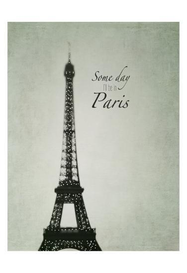 Someday Paris-Tracey Telik-Art Print