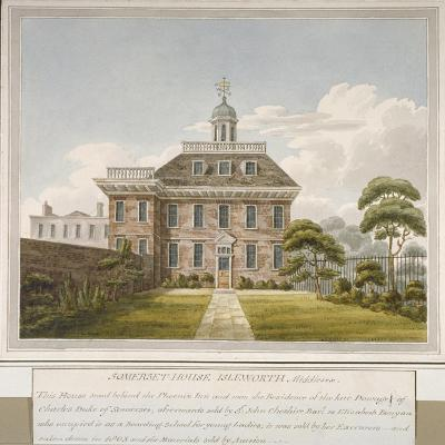 Somerset House, Isleworth, Middlesex, C1800--Giclee Print