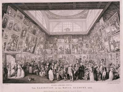 Somerset House, London, 1787-Pietro Antonio Martini-Giclee Print