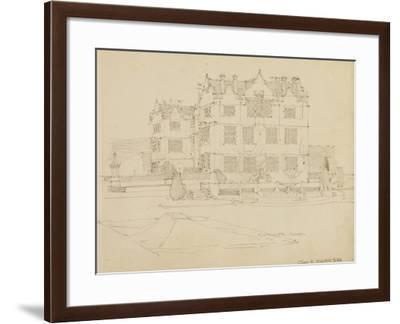 Somerset, Montacute House, 1895-Charles Rennie Mackintosh-Framed Giclee Print