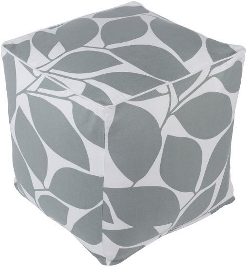 Somerset Pouf - Grey--Home Accessories