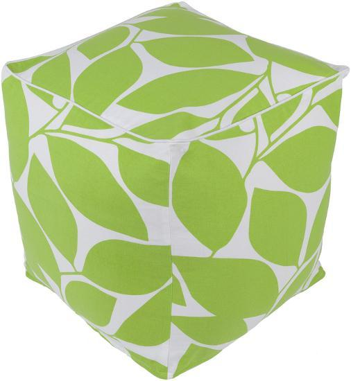 Somerset Pouf - Lime--Home Accessories