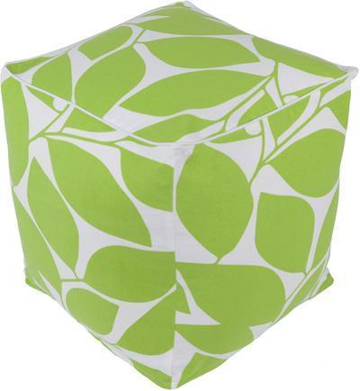 Somerset Pouf - Lime