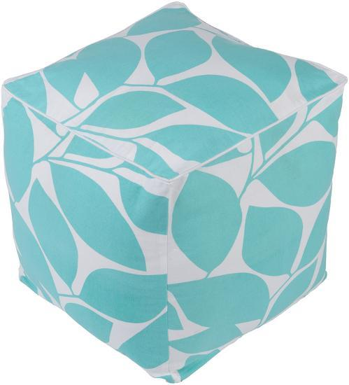Somerset Pouf - Mint--Home Accessories