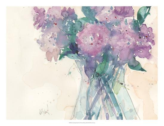 Something Floral II-Samuel Dixon-Art Print