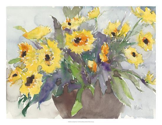 Something Floral V-Samuel Dixon-Art Print