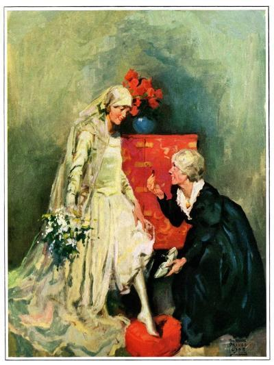 """""""Something Old, Something New,""""June 1, 1928-William Meade Prince-Giclee Print"""