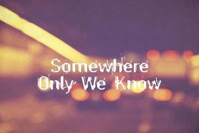 Somewhere Only We Know II-Vintage Skies-Giclee Print