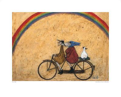 Somewhere under a Rainbow-Sam Toft-Art Print