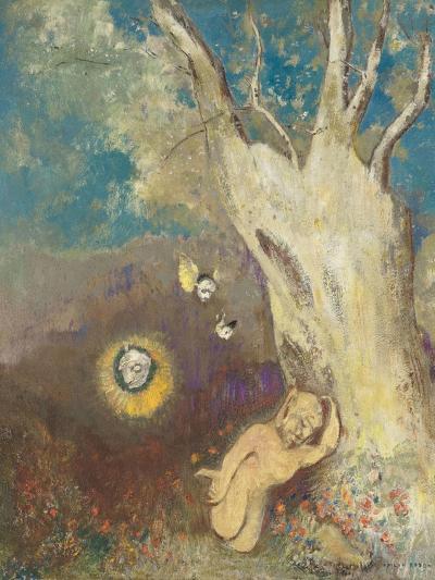 Sommeil de Caliban (Shakespeare, la Tempête, acte II, scène II)-Odilon Redon-Giclee Print