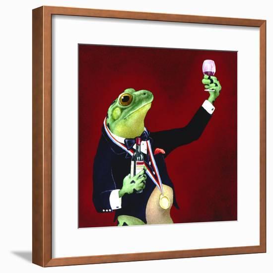 Sommelier-Will Bullas-Framed Premium Giclee Print
