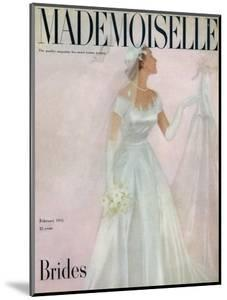 Mademoiselle Cover - February 1951 by Somoroff
