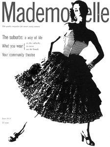 Mademoiselle Cover - June 1952 by Somoroff