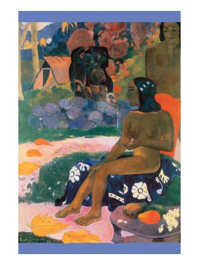 Son Nom Est Vairumati, 1892-Paul Gauguin-Art Print