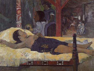 Son of God (Te Tamari No Atu), 1896-Paul Gauguin-Giclee Print
