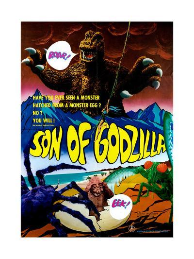 Son of Godzilla, (AKA Kaijuto No Kessen: Gojira No), 1967--Giclee Print