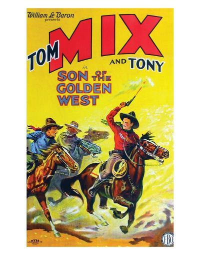 Son Of The Golden West - 1928--Giclee Print