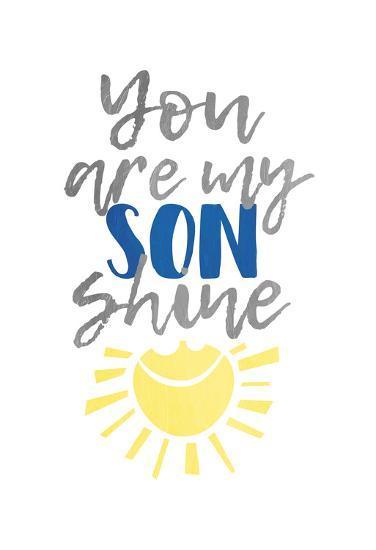 Son Shine-Jace Grey-Art Print