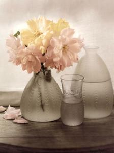 Frosted Glass Vases III by Sondra Wampler