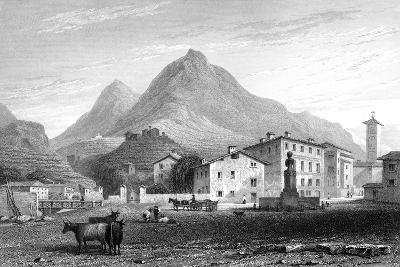 Sondrio, Lombardy, Italy, 1828-W Wallis-Giclee Print