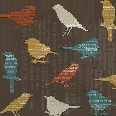 Song Birds-Whoartnow-Giclee Print