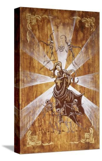Song for Mary-David Lozeau-Stretched Canvas Print