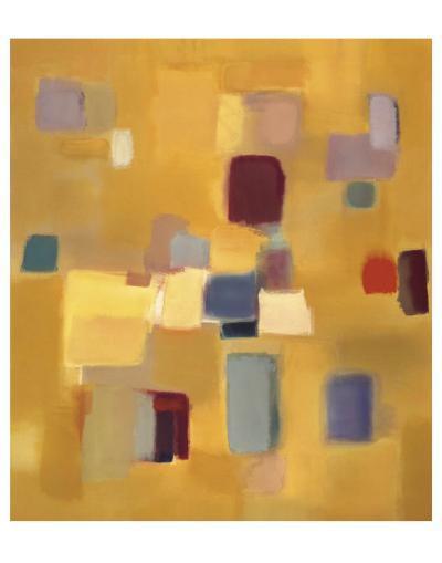 Song in Gold-Nancy Ortenstone-Art Print