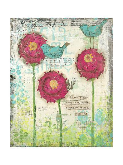Song of Praise-Cassandra Cushman-Art Print