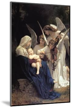 Song of The Angels-William Adolphe Bouguereau-Mounted Art Print