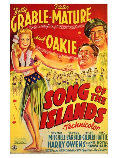 Song of the Islands, 1942--Art Print
