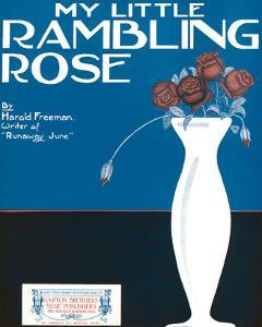 Song Sheet Cover: My Little Rambling Rose By Harold Freeman