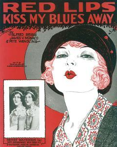 Song Sheet Cover: Red Lips Kiss My Blues Away