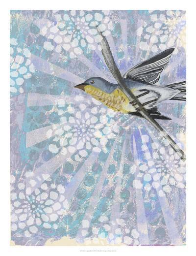 Songbird Batik II-Naomi McCavitt-Art Print