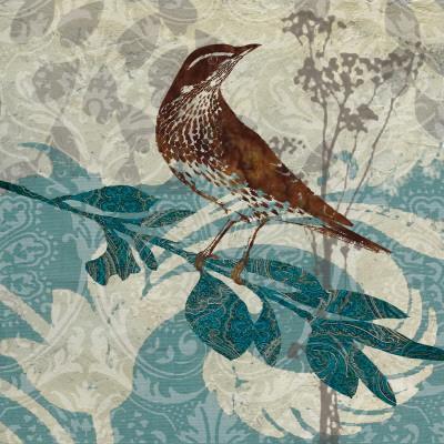 Songbird I-Carol Robinson-Art Print